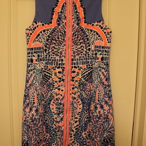 268a8229356cd6 Lilly Pulitzer Dresses - Lilly Pulitzer Mila Shift Dress in Tic Tac Tile